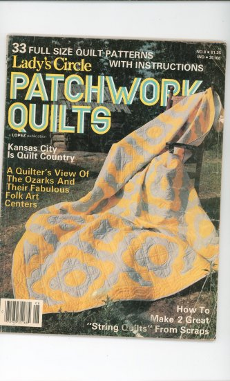 Ladys Circle Patchwork Quilts Magazine No. 8