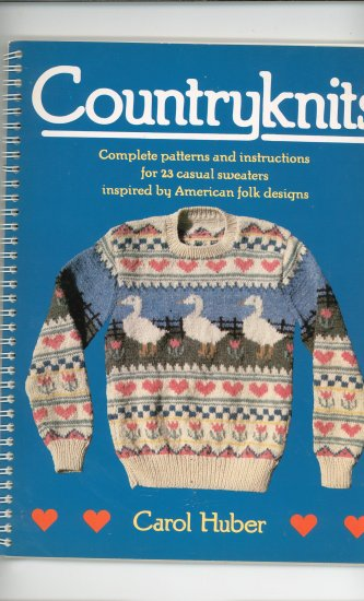 Country Knits by Carol Huber 0525481931