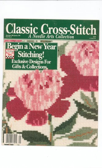 Classic Cross Stitch December 1990 / January 1991