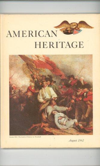 American Heritage August 1962  Volume XIII Number 5  Vintage