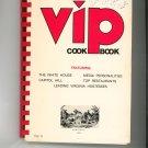 VIP Cook Book Volume II Cookbook Regional American Cancer Society Virginia Vintage