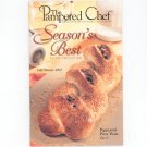 Pampered Chef Seasons Best Fall Winter 2002 Cookbook