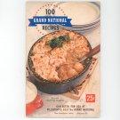 Pillsbury 8th Grand National Cookbook  Vintage Item