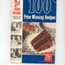Pillsburys 3rd Grand National First Edition Cookbook Vintage Nice Item Pillsbury's