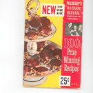 Pillsbury 4th Grand National Cookbook Vintage 1953 First Edition