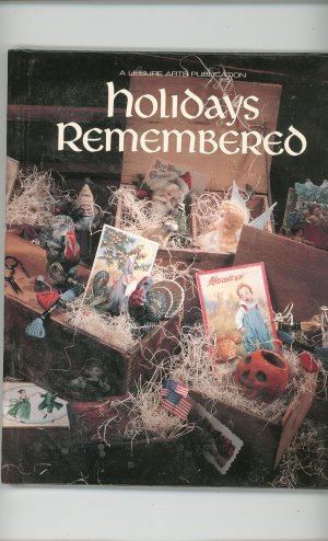 Holidays Remembered  Cross Stitch Leisure Art Book Five 094223720x