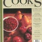 Cooks Illustrated December 1996 #23 Magazine / Cookbook