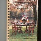 Entertaining In Kingwood Cookbook Regional Texas TX Kingwood Women's Clun
