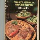 Favorite Recipes Of Jaycee Wives Meats Regional Alabama Vintage