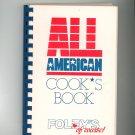All American Cooks Book Cookbook Regional Texas Foleys Foley's