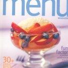 Wegmans Menu Magazine / Cookbook Summer 2002 Regional