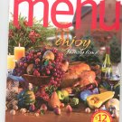 Special Wegmans Menu Magazine / Cookbook Holiday 2009 Regional
