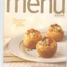 Special Wegmans Menu Magazine / Cookbook Holiday 2004 Regional