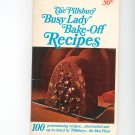 Pillsbury Busy Lady Bake Off Recipes Cookbook 17th Annual Bake Off Vintage Item