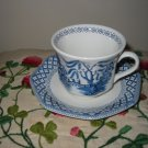 Cup And Saucer Scenic Liberty Royal Staffordshire J & G Meakin England