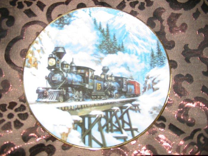 Winter Crossing Collector Plate Winter Rails Hamilton