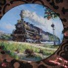 Orange Blossom Special Collector Plate Romance Of The Rails Hamilton Train Tutwiler