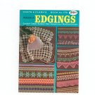 Coats & Clarks Book 179 Priscilla Edgings 1st Edition Vintage Crochet Tatted Knitted Filet ETC