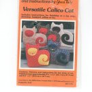 Versatile Calico Cat Pattern by Yours Truly # 3723 Patchwork
