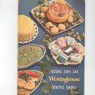 Westinghouse Speed Electric Range Owners Manual and Cookbook Vintage