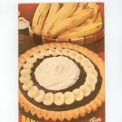 Bananas How To Serve Them Cookbook by Fruit Dispatch Company Vintage