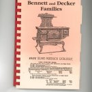 Favorite Recipes Of The Bennett and Decker Families Cookbook Regional New York