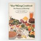Your Waring Cookbook / Manual The Pleasure Of Blending 14 Speed Vintage