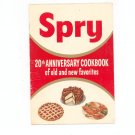 Spry 20th Anniversary Cookbook of Old and New Favorites Vintage