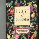 Trinity Lutheran Church Feast Of Goodness Cookbook Regional Indiana