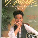 Entertaining and Cooking for Friends Cookbook by Barbara Smith 1579651615 Signed