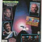 Star Trek Generations Bonus 8 Pages 3-D Lenticular Collectors Edition Starlog
