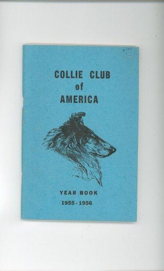 Collie Club Of America Year Book 1955 1956 Vintage CCA Yearbook