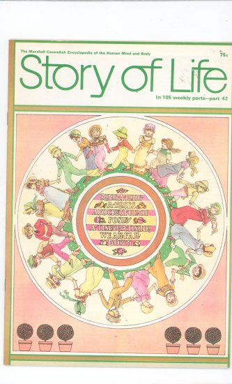 Story Of Life Part 42 Marshall Cavendish Encyclopedia Vintage