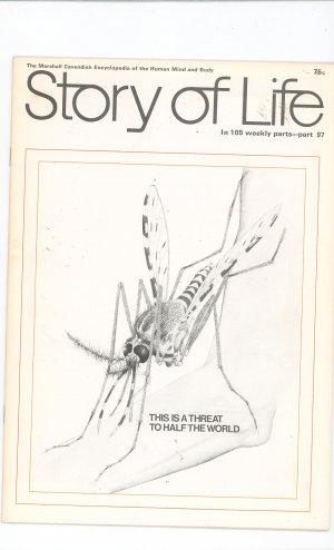 Story Of Life Part 97 Marshall Cavendish Encyclopedia Vintage