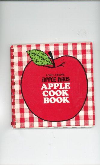 Long Grove Apple Haus Apple Cook Book Cookbook Vintage Regional Illinois