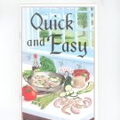 Quick And Easy Cookbook 094084432x Connie Newton