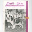 Collie Cues & Shetland Sheepdog News January 1965 Vintage
