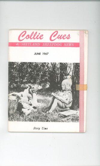 Collie Cues & Shetland Sheepdog News June 1967 Vintage