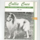 Collie Cues & Shetland Sheepdog News April 1967 Vintage