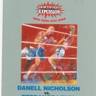 Danell Nicholson VS Terrance Lewis Boxing Program Heavy Weight 2000 New York City