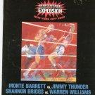 M Barrett VS J Thunder & S Briggs VS W Williams Boxing Program Heavy Weight 2000 New York City