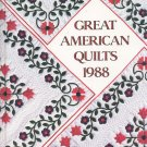 Great American Quilts 1988 0848707206