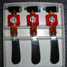 Fireman 3 Piece Spreader Set  # 85