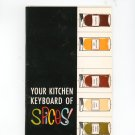 Your Kitchen Keyboard Of Spices Guide by The R T French Company Rochester New York Vintage