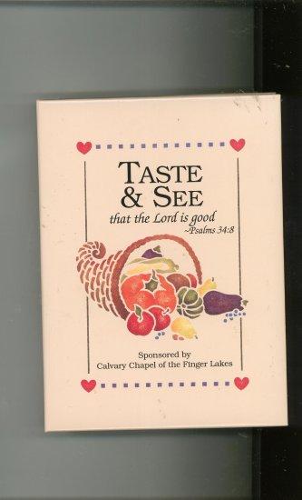 Taste & See Cookbook Church Regional Calvary Chapel New York