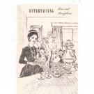 Entertaining Teas And Receptions Cookbook Regional New York Rochester Gas & Electric RGE