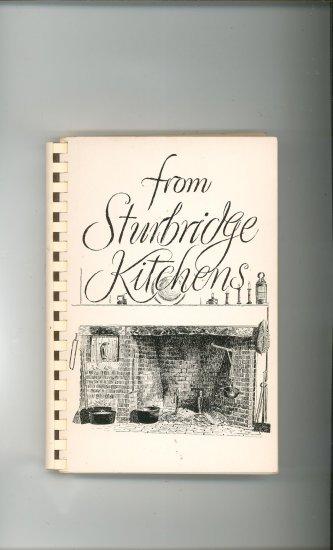 From Sturbridge Kitchens Cookbook Regional Mass Federated Church Vintage
