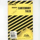 Cliffs Notes Chaucers Canterbury Tales 0822002922