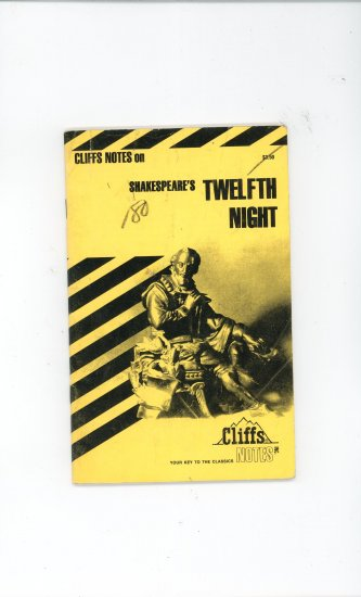 Cliffs Notes Shakespears Twelfth Night 0822000946