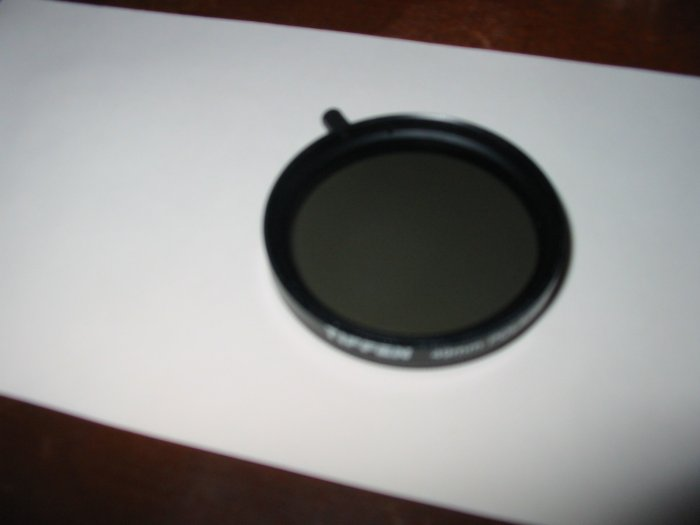 Tiffen 49mm Polarizer Lens With Case